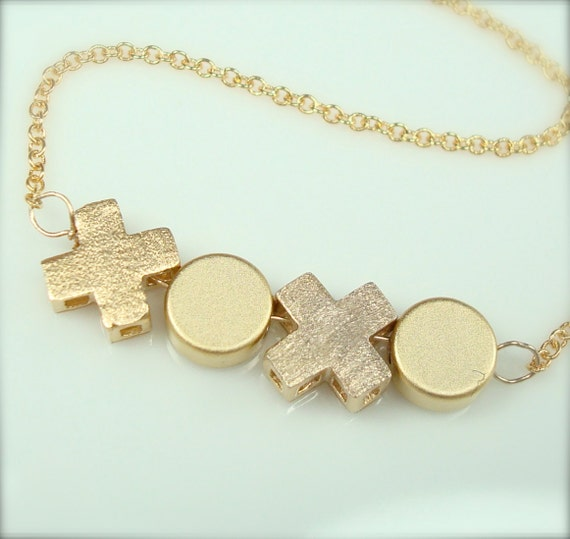 3D Hugs and Kisses Necklace
