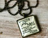 Ephesians 4 29 necklace