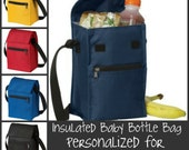 Insulated Baby Bottle Bag Personalized For Daycare and Travel