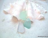 Pastel Beachglass Necklace