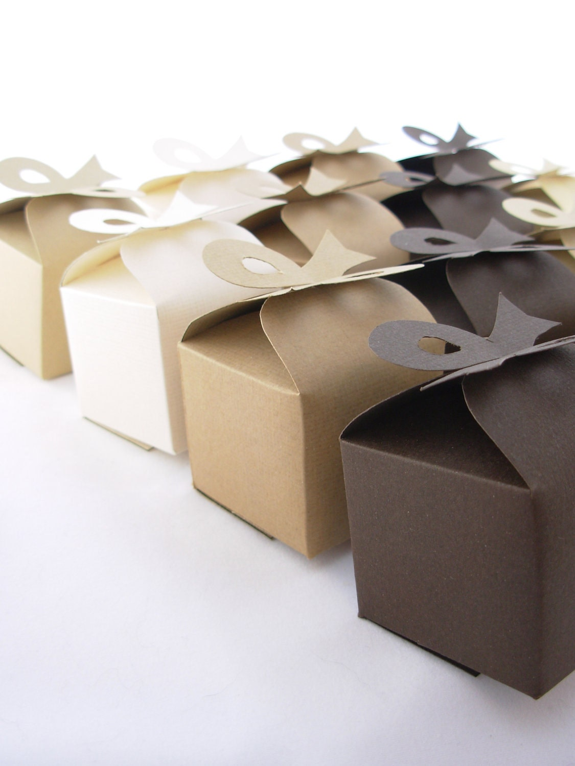 DIY Wedding Favor Bon Bon Box Template by PaperAngelDesigns