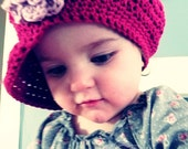 The Angie Hat Slouchy Newsboy Style- Newborn to 10 years