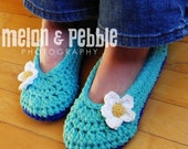 Hello Oma Crochet House slippers Pick a Size 3-11.
