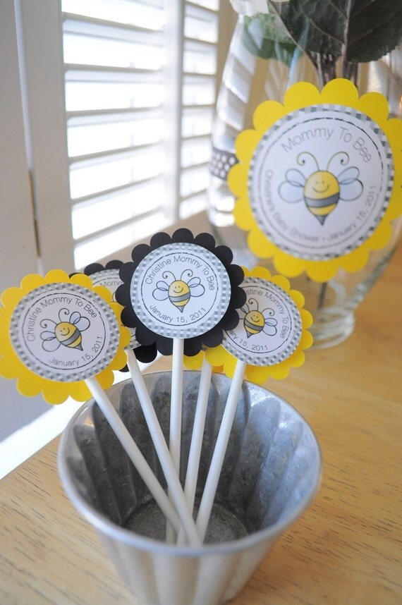 12 Baby Shower Favor Tags