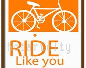 11 X 17 Full Color Poster - Life is Short....Ride Like You Mean It