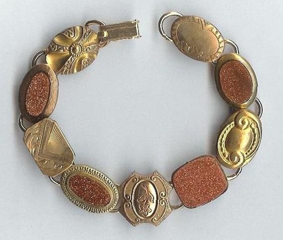 1800s Gold Filled Cufflinks