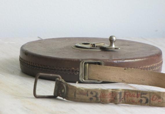 vintage linen tape rule