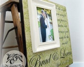Bridal Shower, Wood Wedding Sign and picture frame, Wood sign and picture frame Vintage wood sign,Rustic Wood sign