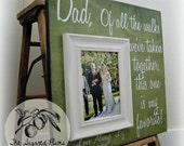 Father of the Bride Gift, Of all the Walks 16x16 The Sugared Plums