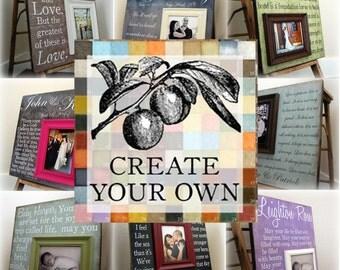 CREATE  YOUR OWN 12x12 Custom Photo Art Plaque