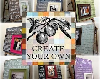 Create Your Own 8X20 Custom Photo Art Plaque