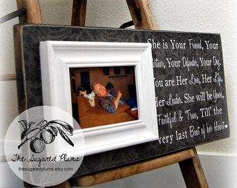Personalized Pet Picture Frame Gift, Dog lover, Pet Gift, In memory of, Inspirational quote, song 8x20