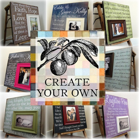 CREATE  YOUR OWN 20x20 Custom Photo Art Plaque
