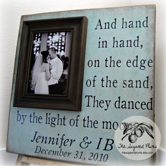 Wedding Gift, First Dance Picture Frame, 16x16 The Sugared Plums Frames