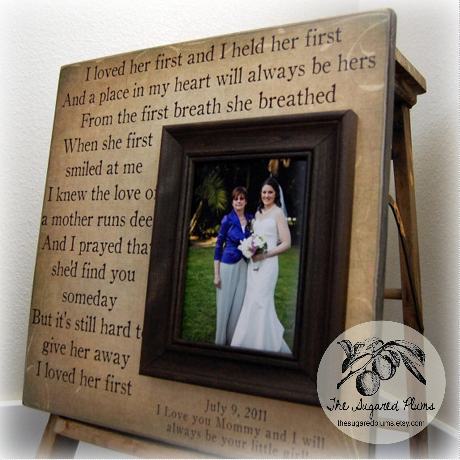 Wedding Gifts For Mom From Bride : MOTHER Of THE BRIDE Gift For Mother of the Bride Personalized