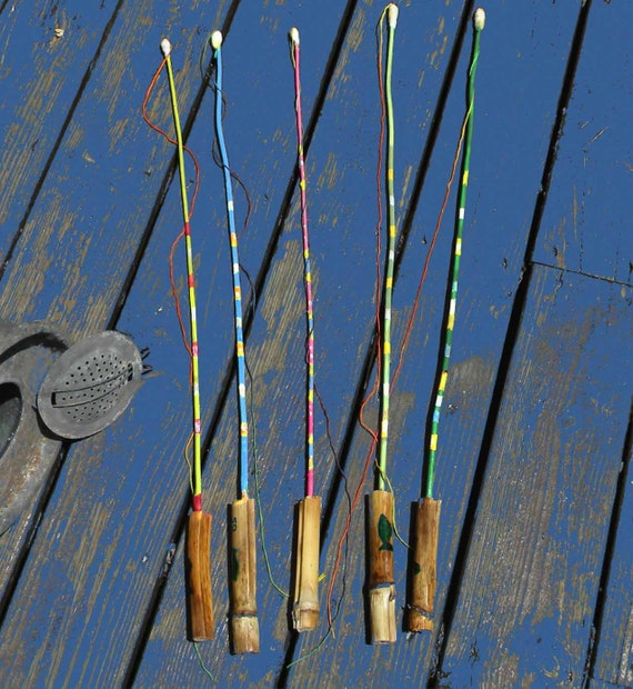 Colorful hookless fishing pole for kids for Fishing pole for kids