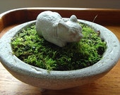 ONE Zen Mini Sleeping Asian Cat Sculpture