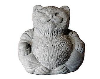 ONE Zen Mini Lucky Cat Buddha Bonsai Terrarium Sculpture