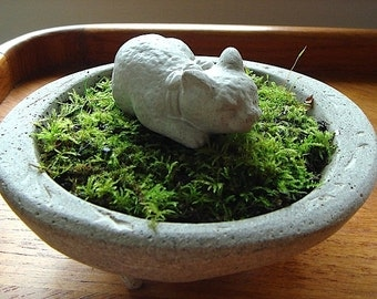 ONE Zen Mini Sleeping Asian Cat Sculpture