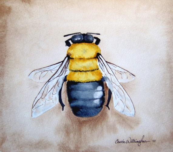 Bee Home Decor: Items Similar To Bumble Bee