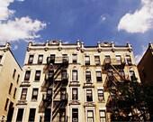 Bronx Buildings 8x12 or 8x10 Photography Print, New York City Neutral Urban Wall Decor, NYC Travel Photo