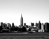 Empire State Building Skyline 16x20 Photography Print, New York City Urban Photo, NYC Wall Art