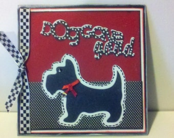 Dog Gone Good 3D all occasion greeting card