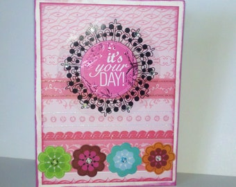 Its Your Day Birthday Anniversary all ocassion greeting card