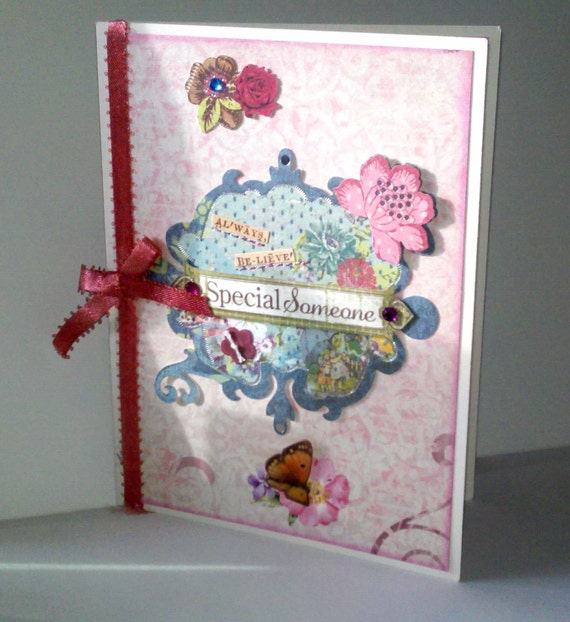 Special Friend all occasion greeting card