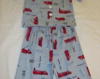 Red truck Pajama