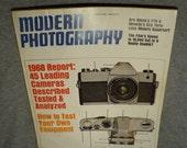 Vintage Modern Photography December 1967 Edition