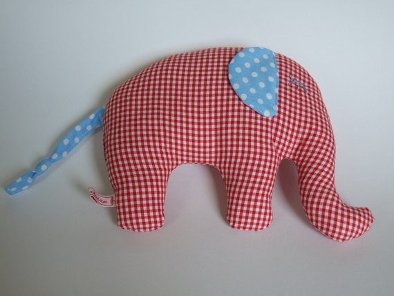 Ellie the plush elephant
