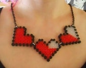 Zelda Hearts Necklace