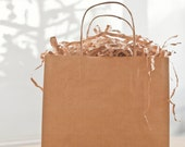 Shredded Brown Kraft Paper for Gift Baskets, Shipping and Packaging
