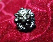 Metal Buttons - Lion Metal Buttons , Gunmetal Color , Shank , 0.47 inch , 10 pcs