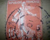 REPUBLIQUE FRANCAISE 22x27 pillow front (need multiples/we have)