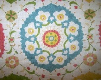 SUZANI STYLE Linen fabric