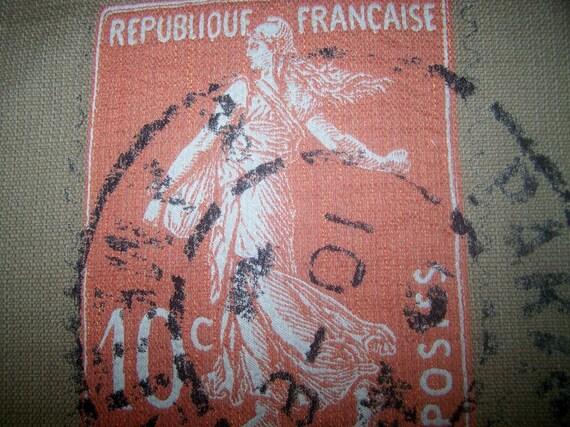 REPUBLIQUE FRANCAISE 22x27 pillow front (need multiples/we have)