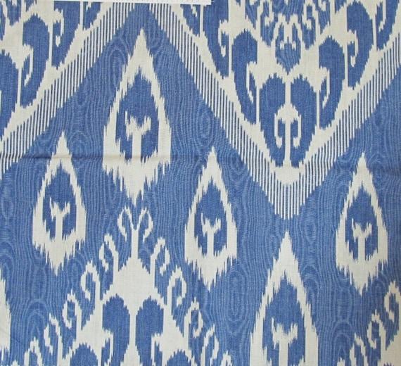 VARI HYACINTH Ikat linen BY kRAVET
