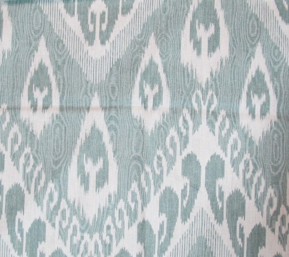 RESERVED For 2 yards VARI ARTEMISIA Ikat linen