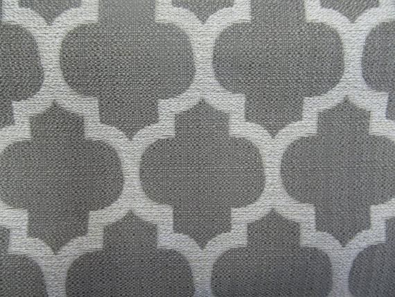 DASH in platinum woven designer fabric