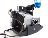 Polaroid Automatic 100 Land Camera - Vintage 1960s Photography with Bag, Directions, Accessories / Paparazzi