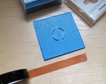 Vintage 1970s Chartpak Pressure Sensitive Graphic Tape Deco Tape Coffee Brown Half Inch x 324 Inch Scrapbooking Supplies Graphic Design