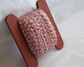 Bakers Twine Red and White Candy Cane 100 Yards