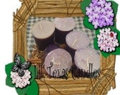 Muscadine Votive Candles 6 Pack