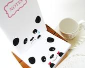 ON SALE Panda Notebooks - In love Panda and Sad Panda