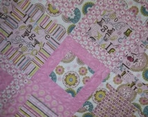 Framed Block Penny Lane quilt pattern tutorial, w Photos, pdf