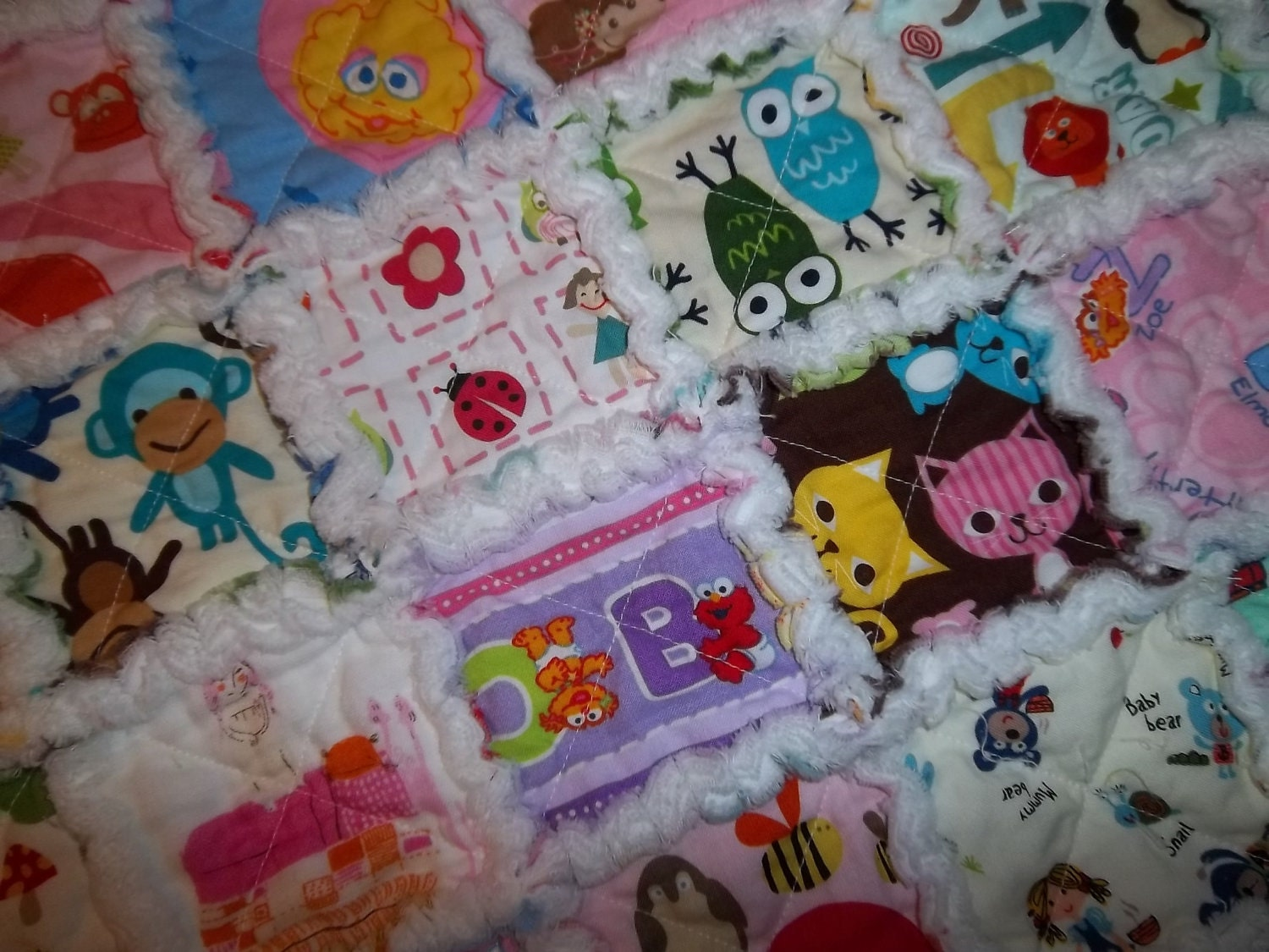 Jack's I Spy quilt - Make Baby Stuff