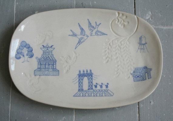 Brooklyn Chinoiserie Platter