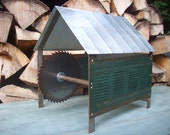Metal Sculpture / Industrial Architectural Model  /  Saw Mill Dreams  /  Modern Industrial Art